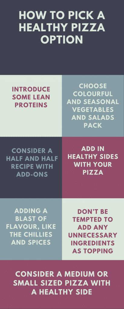 Choose A Healthy Pizza Option