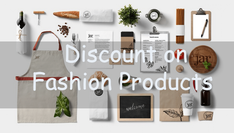 fashion product discount