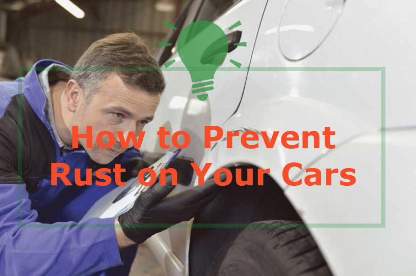 Causes and prevention of rust on cars