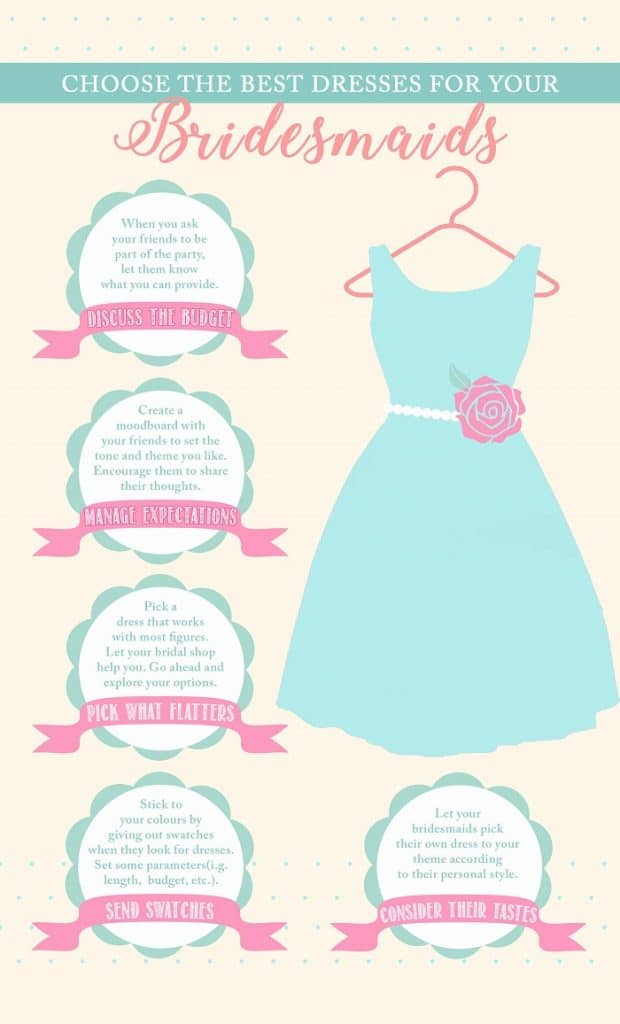 how to select bridesmaid dress