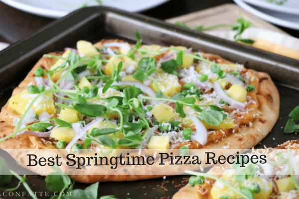 Best Springtime Pizza Recipes
