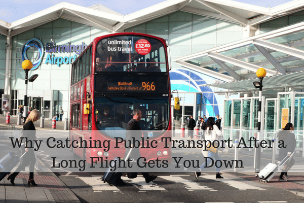 Why Catching Public Transport After a Long Flight Gets You Down