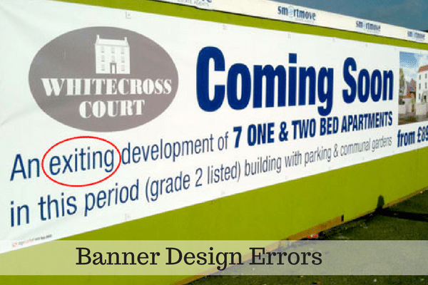 Banner Design Error
