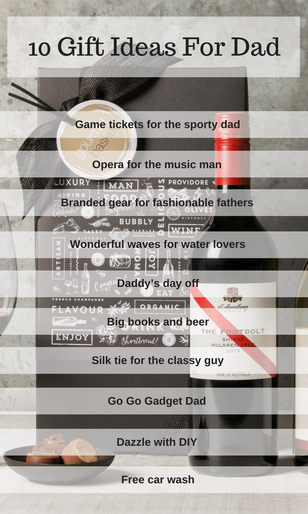 10 Gift Ideas For Dad