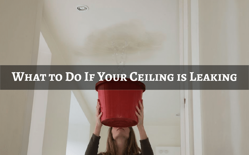What to Do If Your Ceiling is Leaking