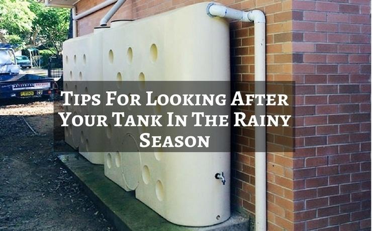 Tank In The Rainy Season