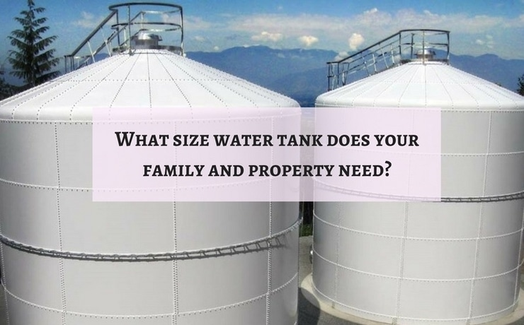 Water Tank Size