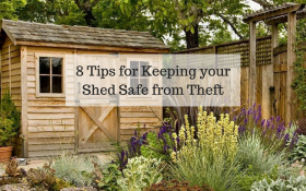 8 tips for keeping your shed safe from theft