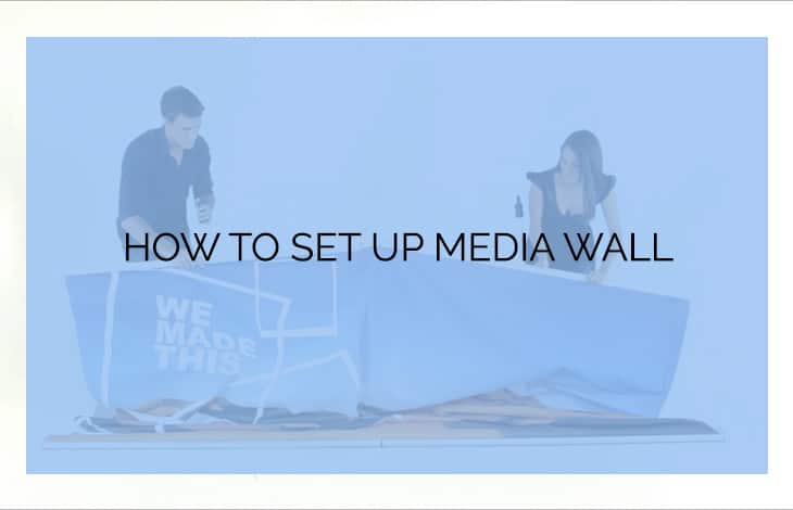 How to set up media wall
