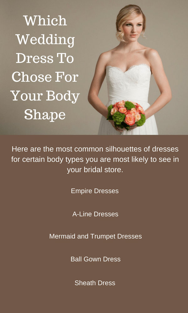 Which Bridal Wedding Dress To Chose For Your Body Shape