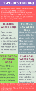 Types of Weber BBQ