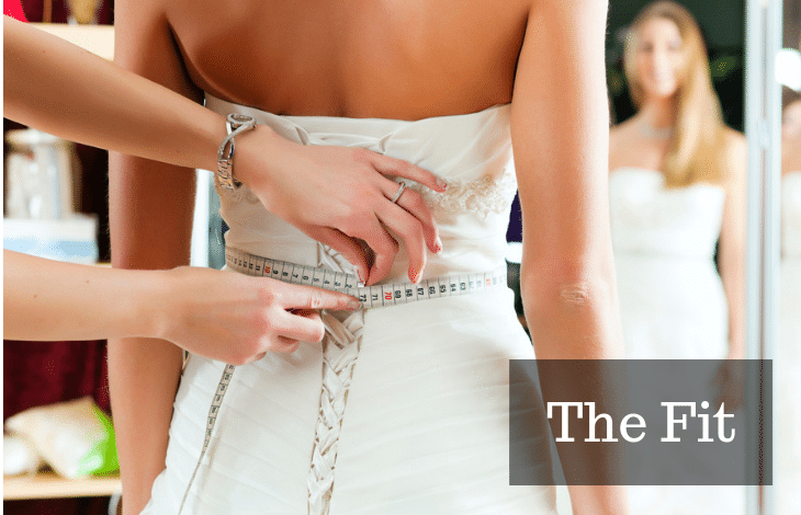 The Fit Choose the right Vintage Wedding Dress