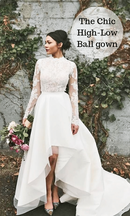 The Chic High-Low Ball gown