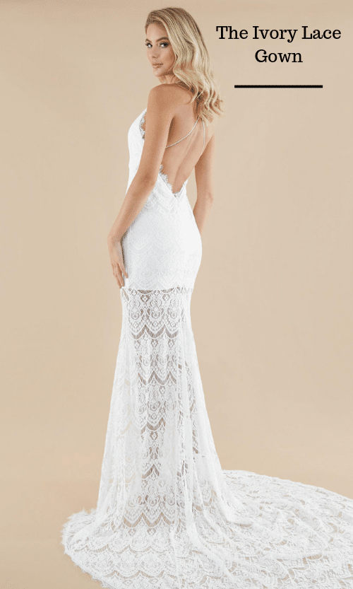 The Ivory Lace Gown