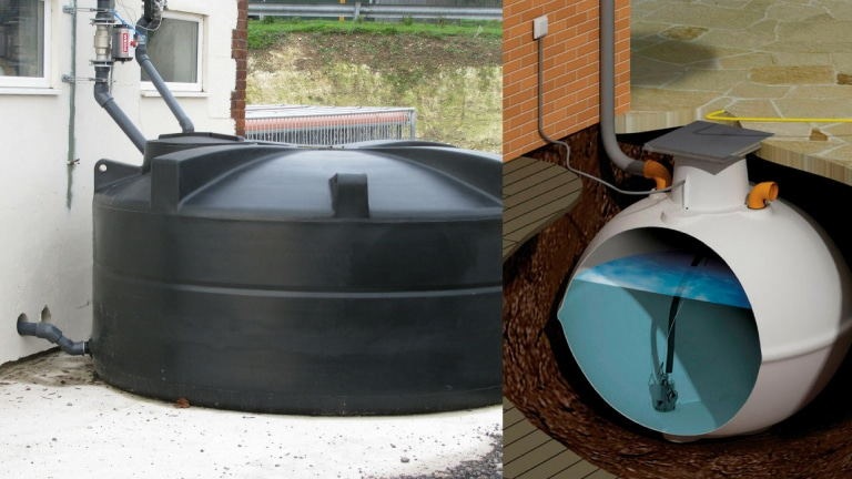 aboveground tanks or underground tanks